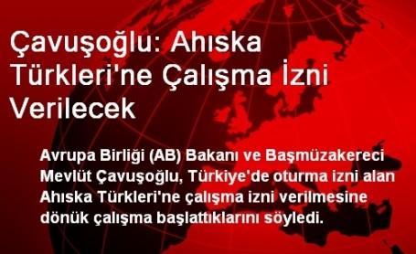 Ahıska Türkleri'ne Çalışma İzni Verilecek